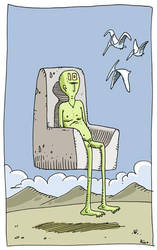 Floating Dude in Chair by rico-xx