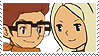 Request - Randall x Angela Stamp by SamCCStamps