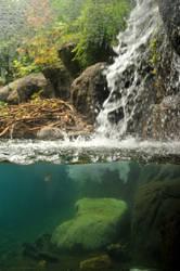 Waterfall Cross Section by lindowyn-stock