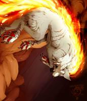 Burn baby burn by Cakeindafridge