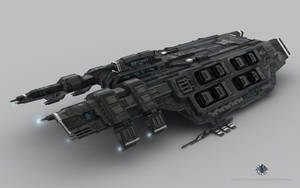 Caldari Battlecruiser - Drake by Genious80