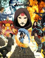Avatar The legend of Korra FanArt by DarshaBezarius