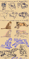 [Tutorial] How I Draw Dragons! Early 2018 Edition by Mollish