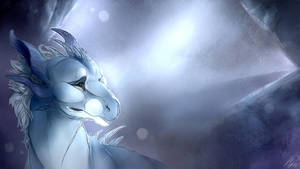 [DI] Snow Drake Painting by Mollish
