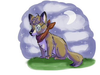 Chibi wolf by bubuCoy