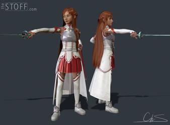 Asuna - realistic model by TheStoff
