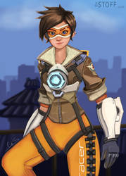 tracer paintin by TheStoff