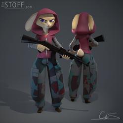 Militia Bunny by TheStoff