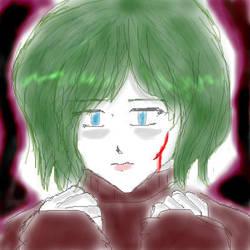Nameless Girl by midorinite