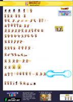 Super Saiyan 2 Goku - Ultimate LSW Sheet by xBae12