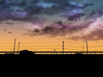 After dark by Risaiwata