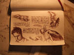 Lost pages from Da Vinci sketchbook by Pickador
