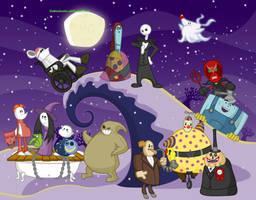The Nightmare Before Decemberween by DaBurninator