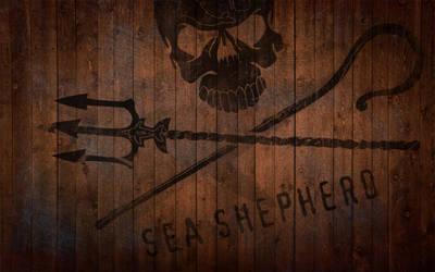 Sea Shepherd Wallpaper by Just-Johnny