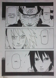 pagina manga Naruto by EdilsonSanto