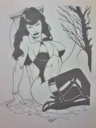 Pin Up  Vampirella by EdilsonSanto