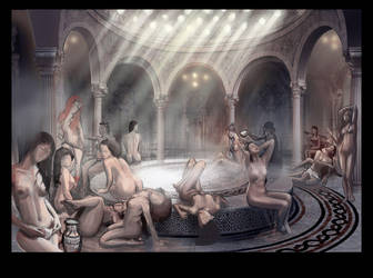 hammam by concept-drawing-girl