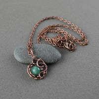 Tiny pendant by WhiteSquaw
