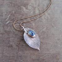 Autumn Sky necklace by WhiteSquaw