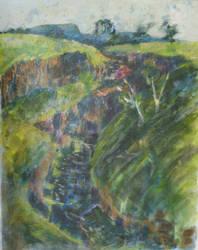study of LaLa Falls by pheelix-dot-com