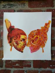 haha vs.pheelix, Chiefly tribal 2014 by pheelix-dot-com