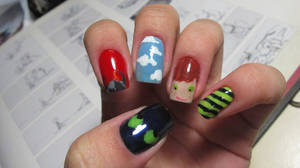 How to Train Your Dragon Nails by tharesek