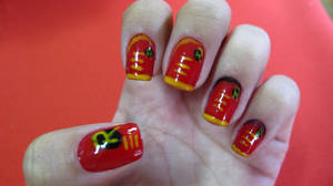 Robin Nails by tharesek