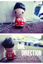 one direction zayn malik necklace by cutieexplosion