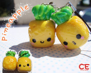 pineapple charm by cutieexplosion