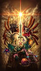 Kirby - Ultra Sword3 by PUKU-MEDAMABUTA