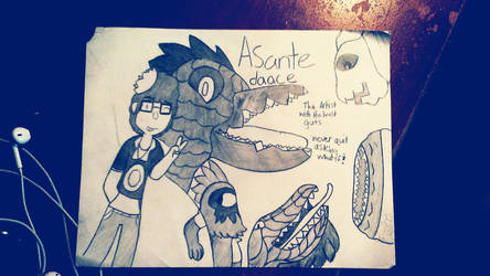 Asantedaace: The Artist with The Most Guts by Jaytheslowbro76