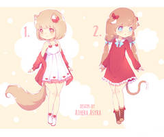 Adopts Auction   Kitty Cats [CLOSED] - 10$ by AtheraAsyra