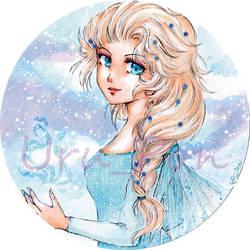Elsa from Disneys Frozen by Uru-Pon