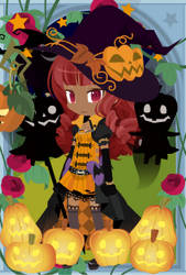 Halloween Witch - Whitney by catkittycool321