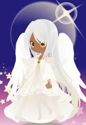 Split Personality OC - Angel by catkittycool321