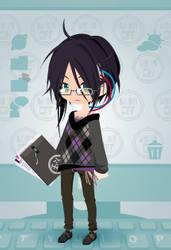OC - Detective Ryou by catkittycool321