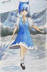 Cirno - The First Snow by MadScientistCarl
