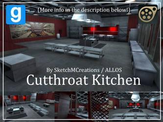 Map - Cutthroat Kitchen by SecminourTheThird