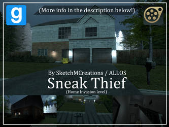 Map - Sneak Thief (Home Invasion level) by SecminourTheThird
