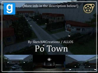Map - Po Town by SecminourTheThird