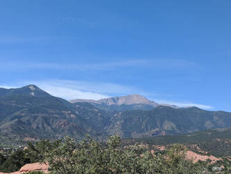 Pike's Peak by amcforeverman