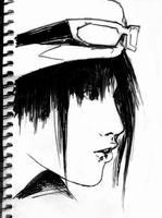 Miyavi face by H-I-S-O-K-A