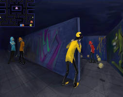 pacman 3D by H-I-S-O-K-A