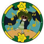 (COM) Yo-kai Watch: Cocofool Medal by ARTgazer12