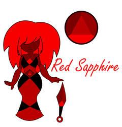 Gemsona: Red Sapphire by ARTgazer12
