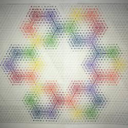 Rainbow Snowflake by Mathisbeautiful