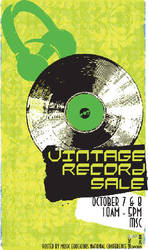 Vintage Record Sale by mzzt86