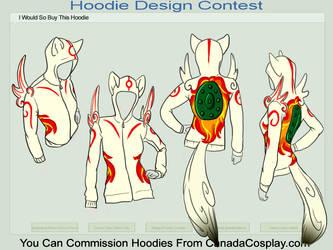 Okami hoodie by FatNerdFactory