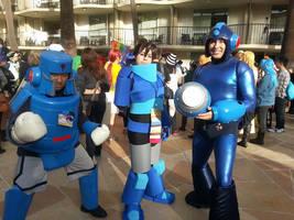 Megaman Group (ALA 2014) by PuddingPlushiePalace