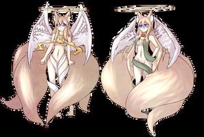 Lucifina and Micaela by Critnuke